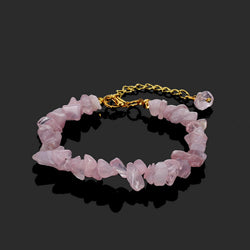 Natural Tumbled Crystal Reiki Bracelet