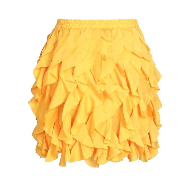 Addyson Pleated Ruffle Skirt