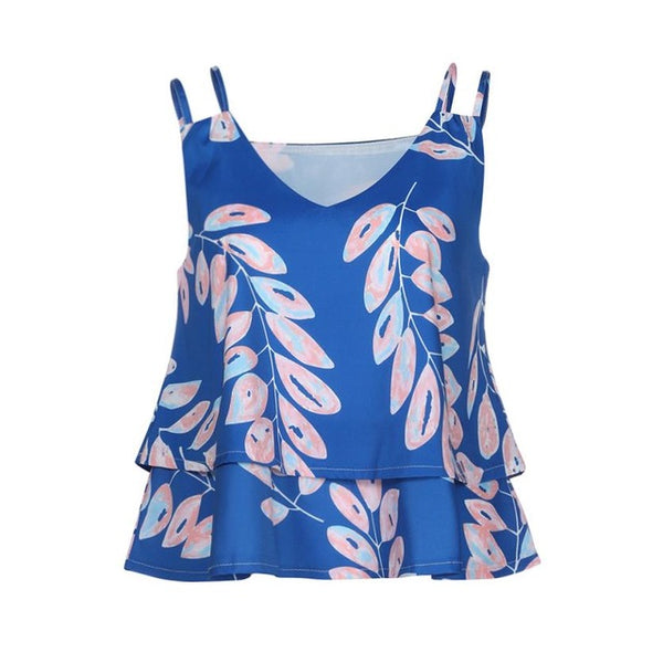 Lucia Leaf Camisole Top