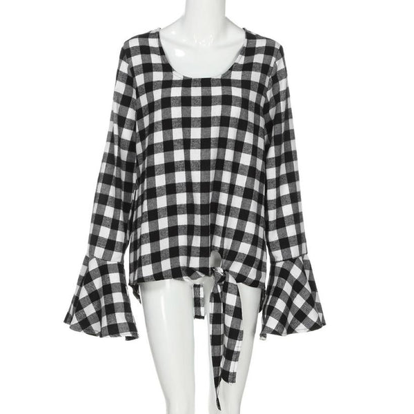 Dream of Plaid Blouse