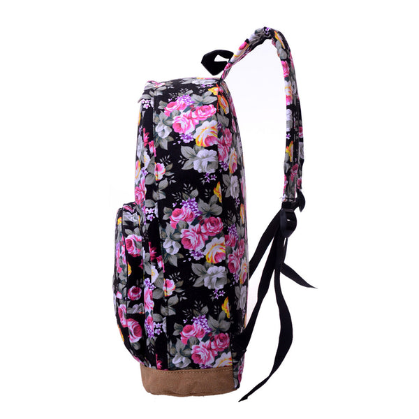 Floral Preppy Backpack