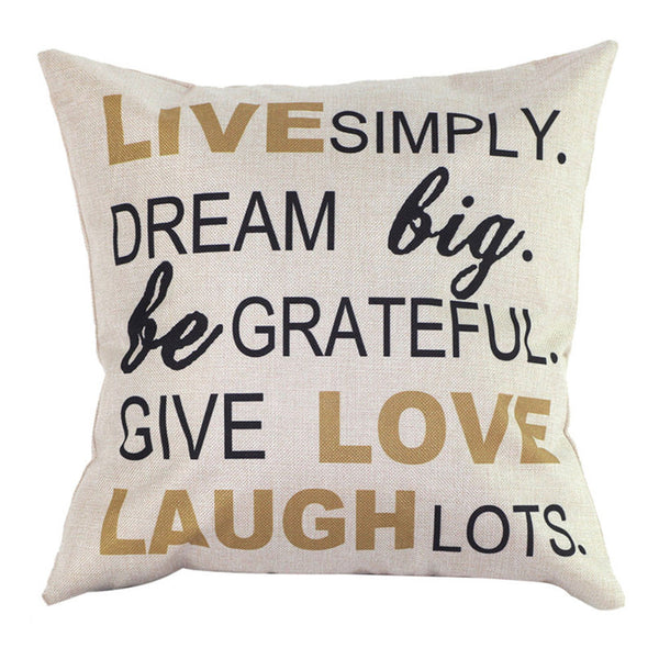 Cotton Blend Statement Cushion Cover, Home, IUNeed Technology Co.,Ltd., lovepeaceboho