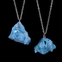 Load image into Gallery viewer, Druzy Crystal Simple Statement Necklace