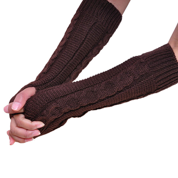 Chain Knit Arm Warmers [4 Variants]