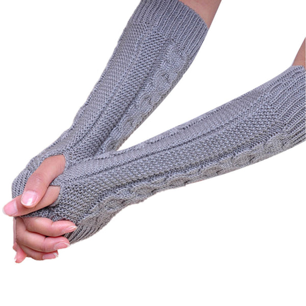 Chain Knit Arm Warmers [4 Variants], Arm Warmer, Elbow Length, Chain Knit, lovepeaceboho