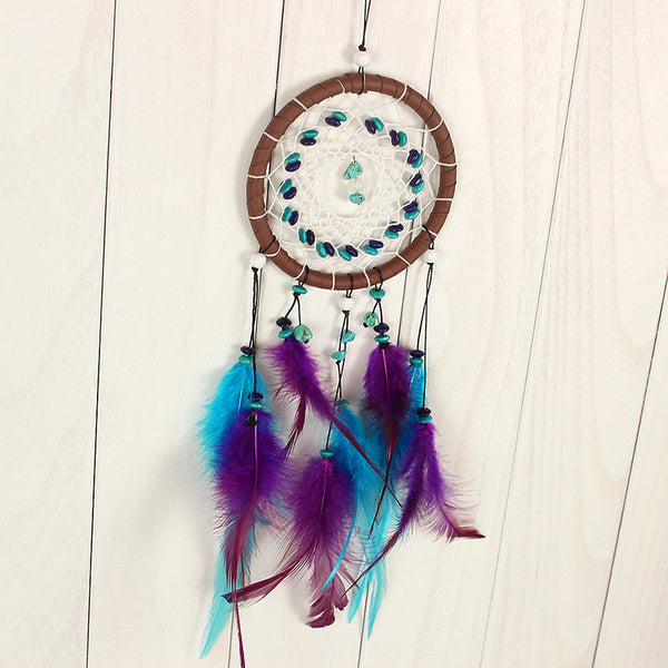 Enchanted Forest Dream-Catcher With Feathers