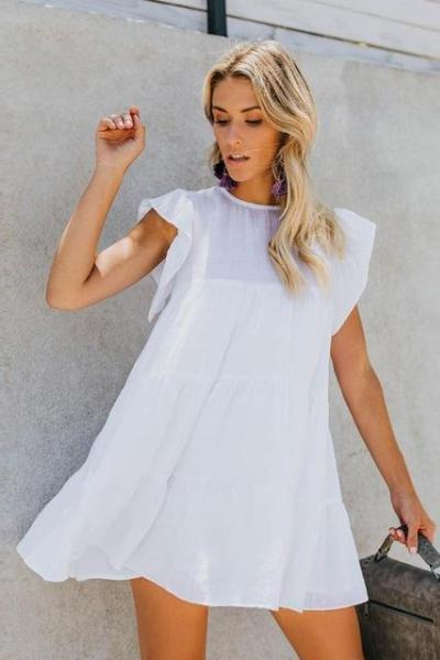 Darla Tiered Babydoll Dress