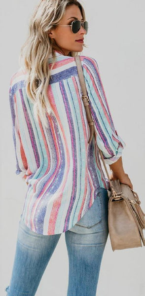 Adesha Striped Pocket Shirt