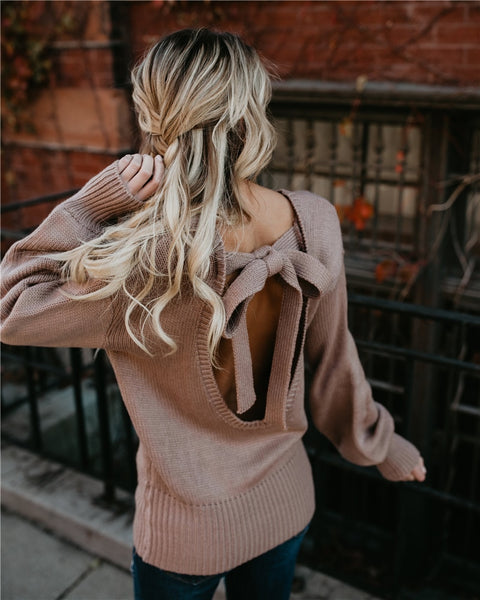 Downtown Dreams Knit Sweater