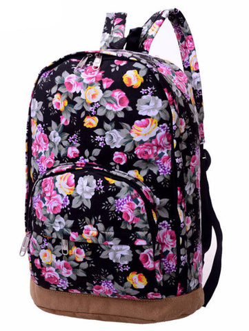 Old Floral Preppy Backpack