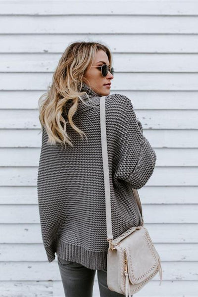 Karima Turtleneck Knit Sweater