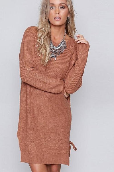 Jeya Laced Tunic Sweater