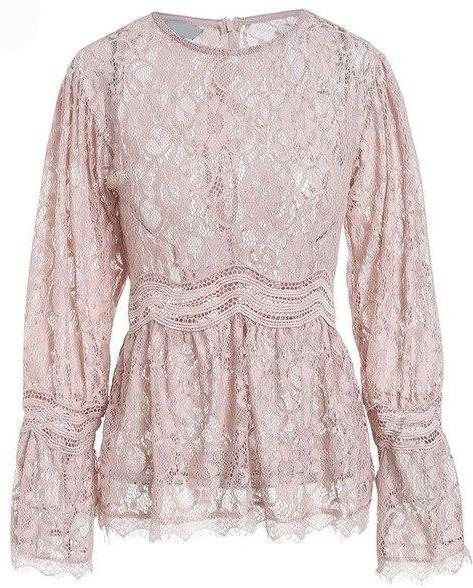 Yulia Sheer Lace Top