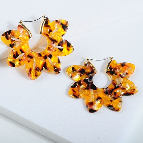 Petal Leaf Earrings
