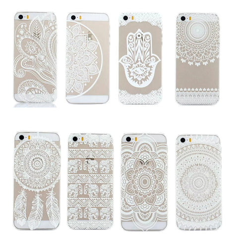 Henna Hard Case For iPhone 4/4s 5/5s, iPhone Case, lovepeaceboho