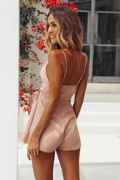 Same Time Wrap Playsuit