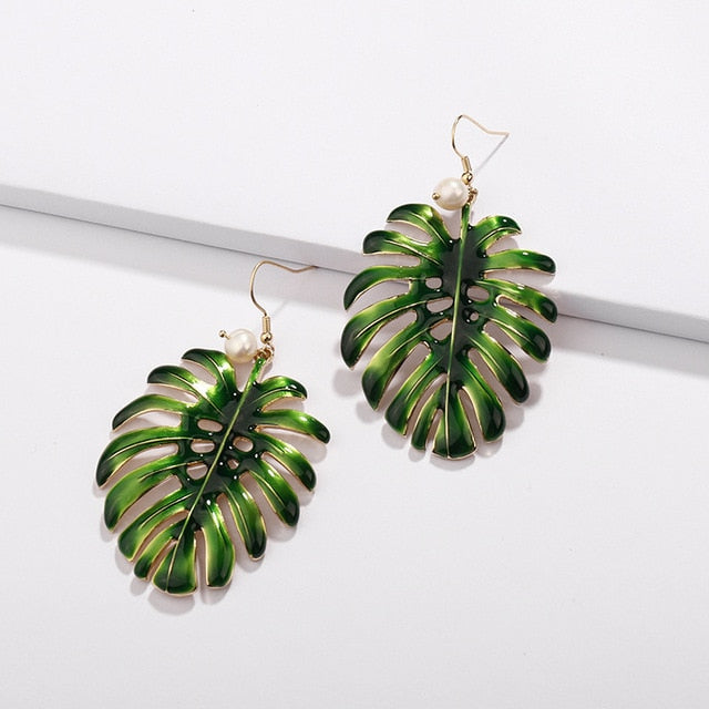 Natural Plants Earring