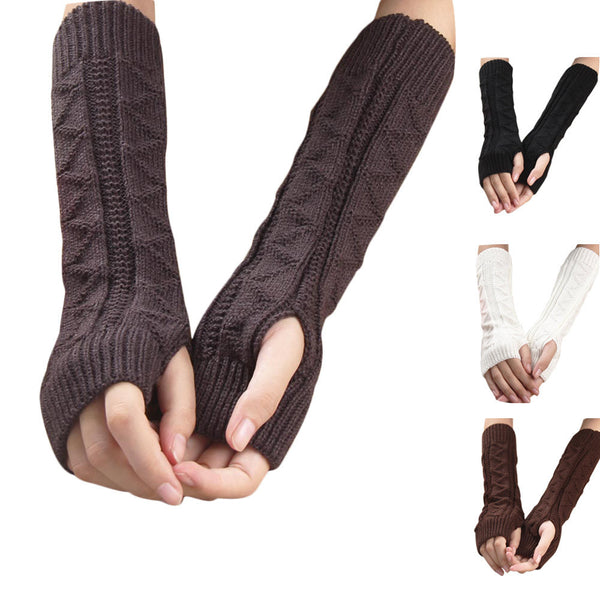 Fingerless Delta Mittens, Mittens, Elbow Length, lovepeaceboho