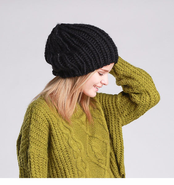Cable Knit Winter Beanie [7 Variants]