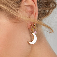 Load image into Gallery viewer, Star Moon Drop Earrings