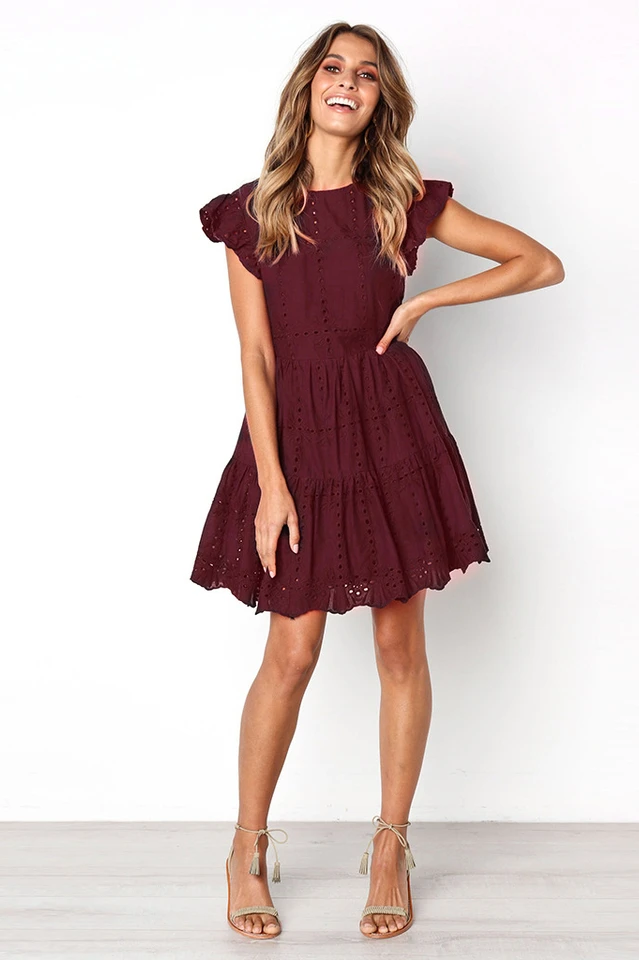 Shelby Tiered Mini Dress