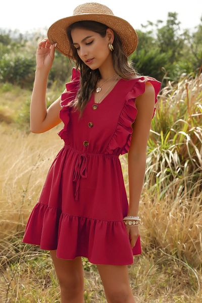 Angel Babe Ruffle Dress