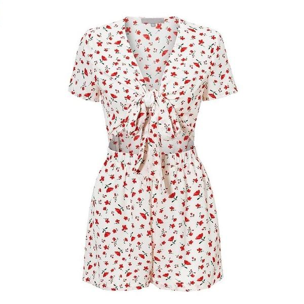 Simona Floral Playsuit