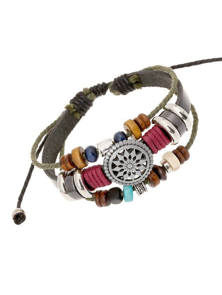Stacked Beads Bracelet, Bracelet, lovepeaceboho