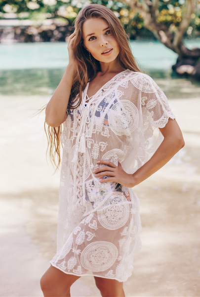 Ethereal Lace Tunic