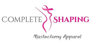 Complete Shaping Mastectomy Clothing including mastectomy bras, mastectomy camisoles, post mastectomy activewear, mastectomy bathing suits, two piece swim wear, bikini bottoms, swim bottoms, swim skirts, breast prosthetics, breast forms, breast prosthesis