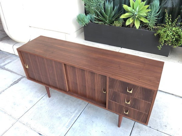 Tri-Drawer Credenza - (In-Stock Now)