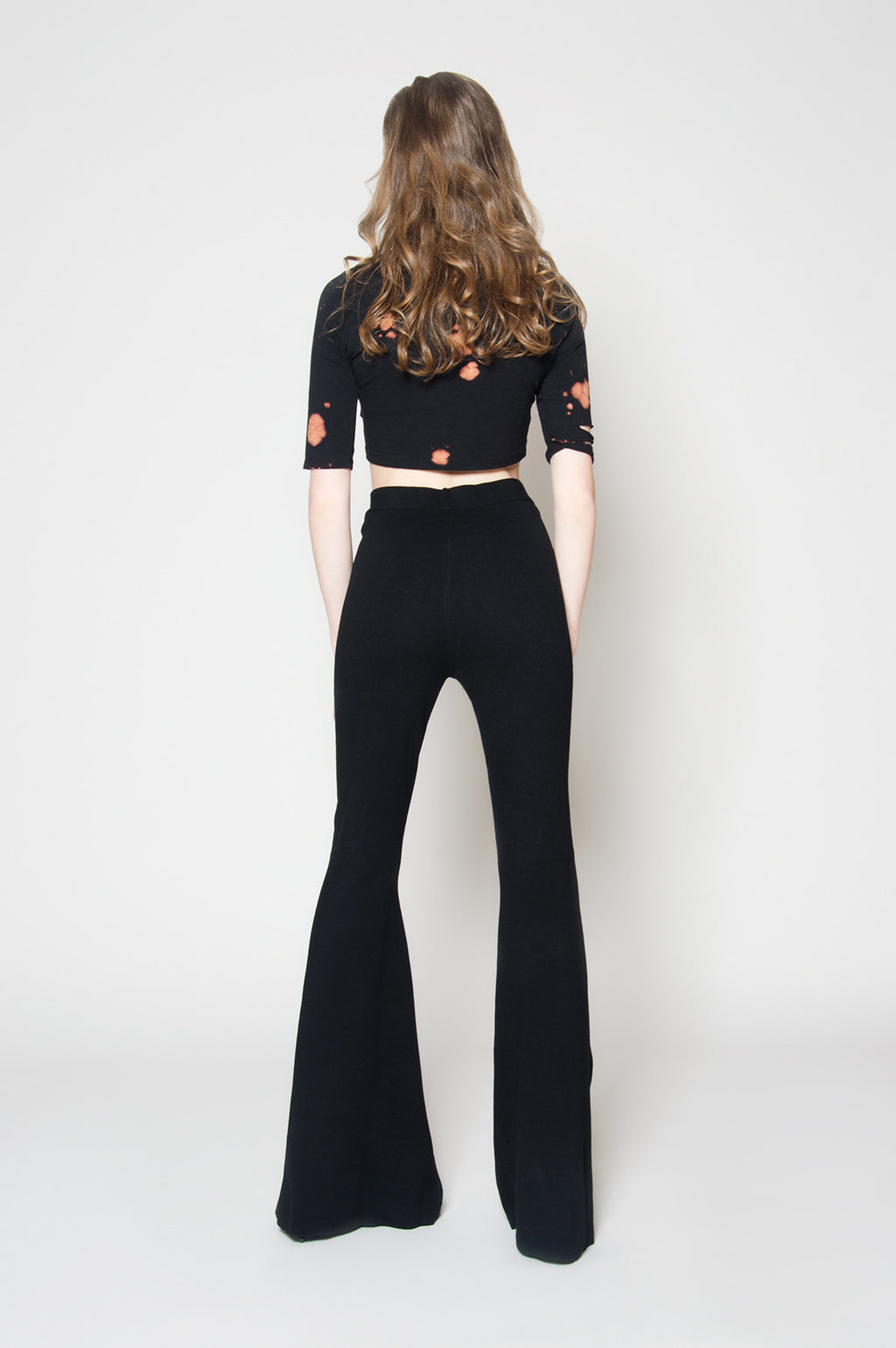Rebel hearts wide leg pants, Bottoms