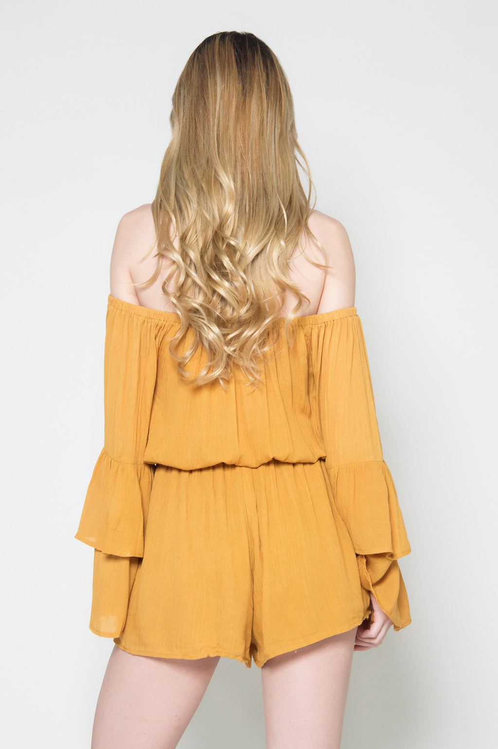 Essence of nature off shoulder romper, Rompers