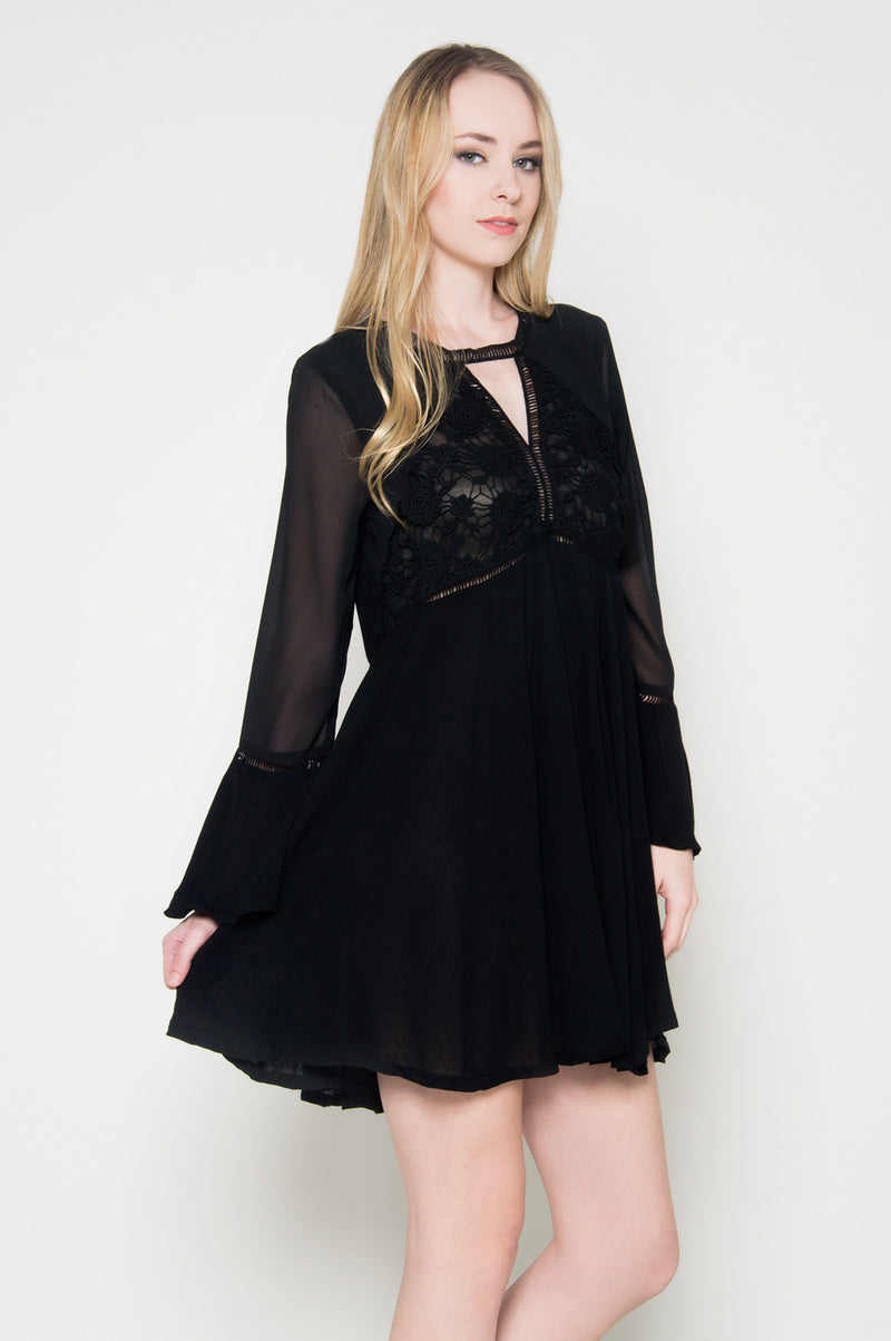 Lolita bell sleeve dress, Dresses