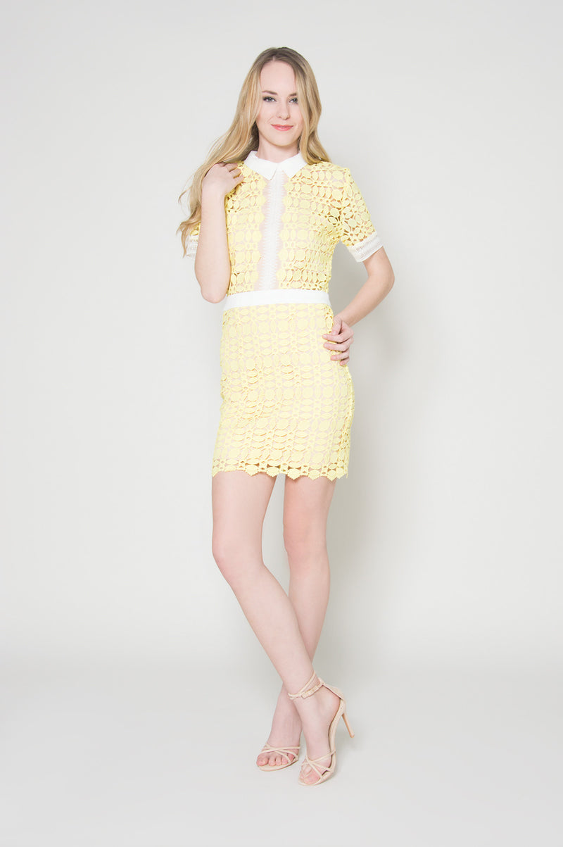 Miss sunshine embroidered dress, Dresses