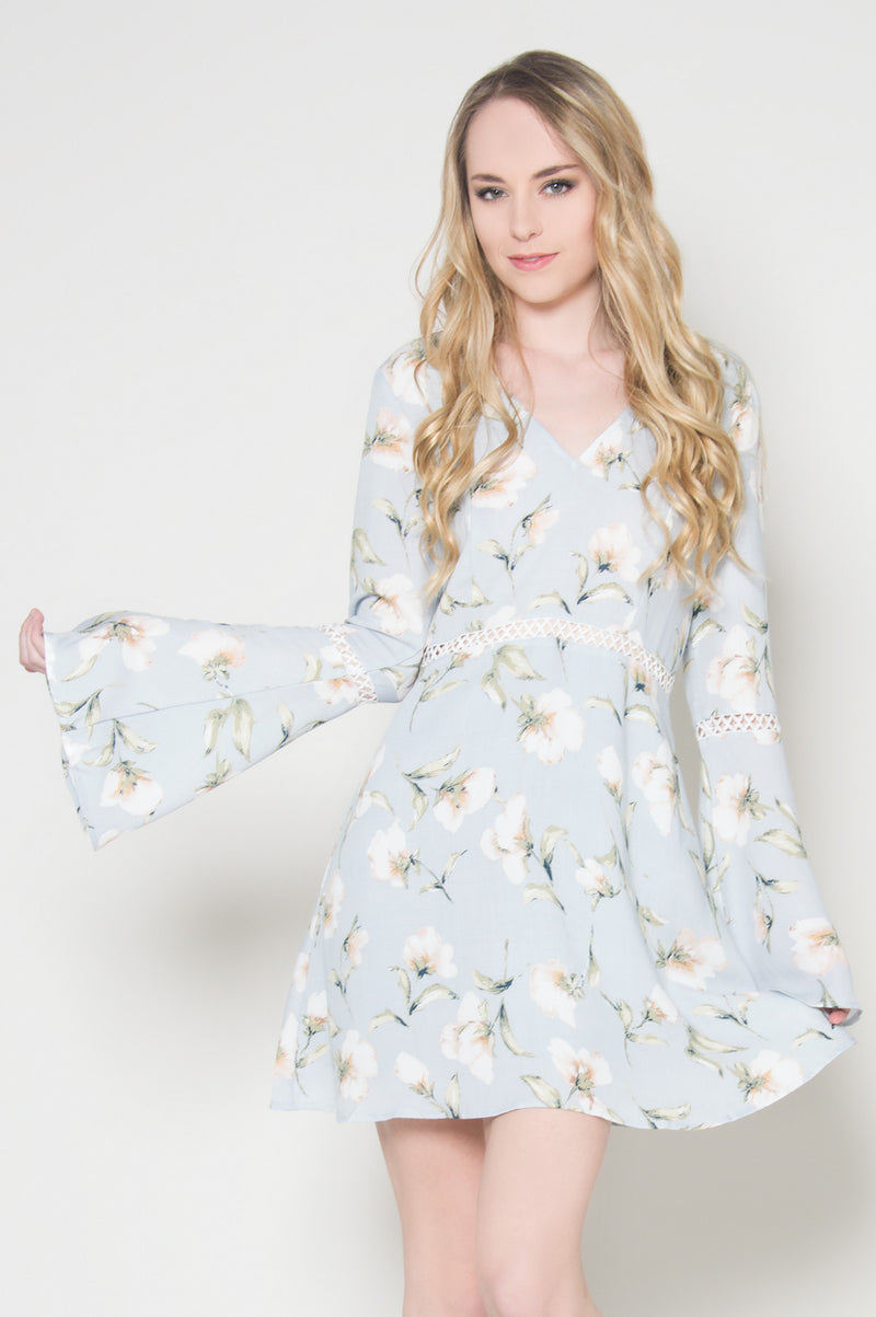 Hillside pastel floral dress, Dresses