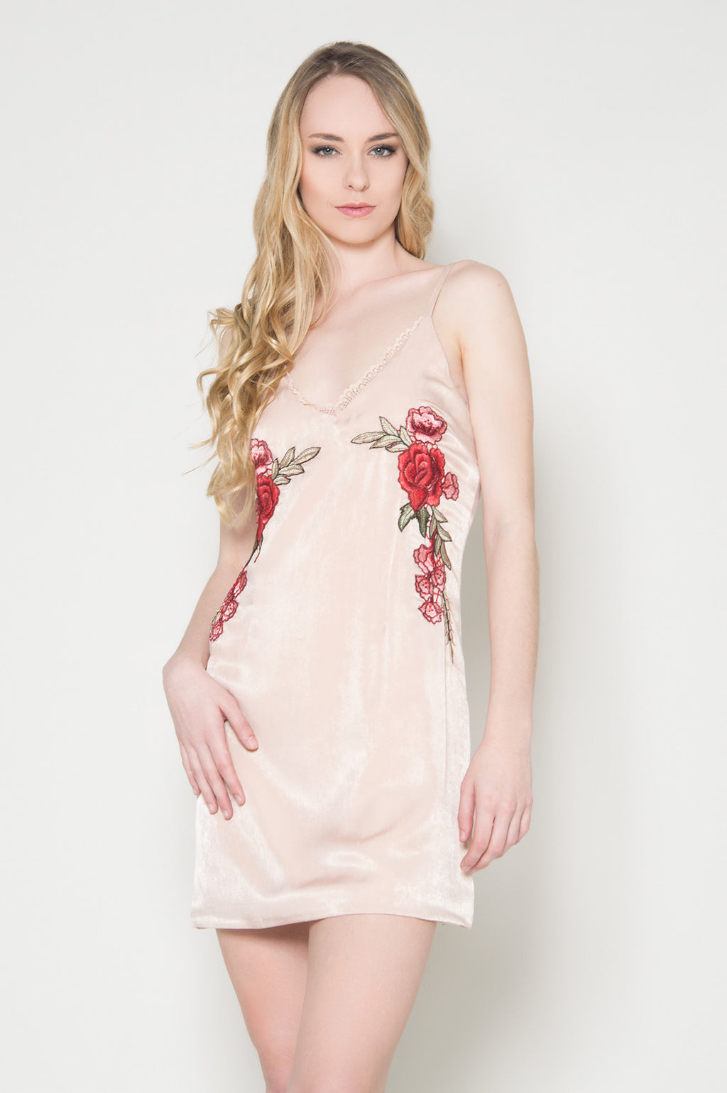 Bed of roses slip dress fashionable classy trendy dresses for the summer