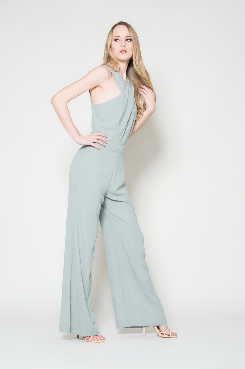 Catwalk sage jumpsuit special occasion jumpsuits for women on sale