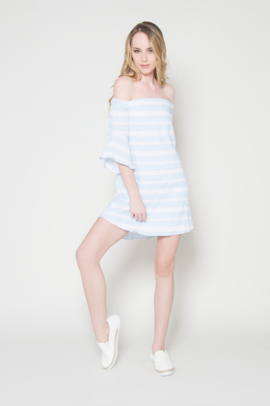 By the seas off shoulder dress, Dresses