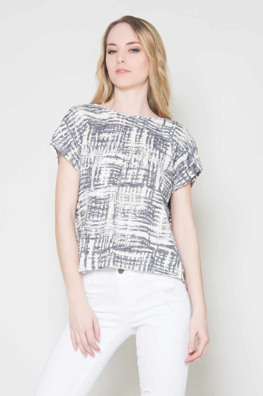 Game changer tie back top, Tops