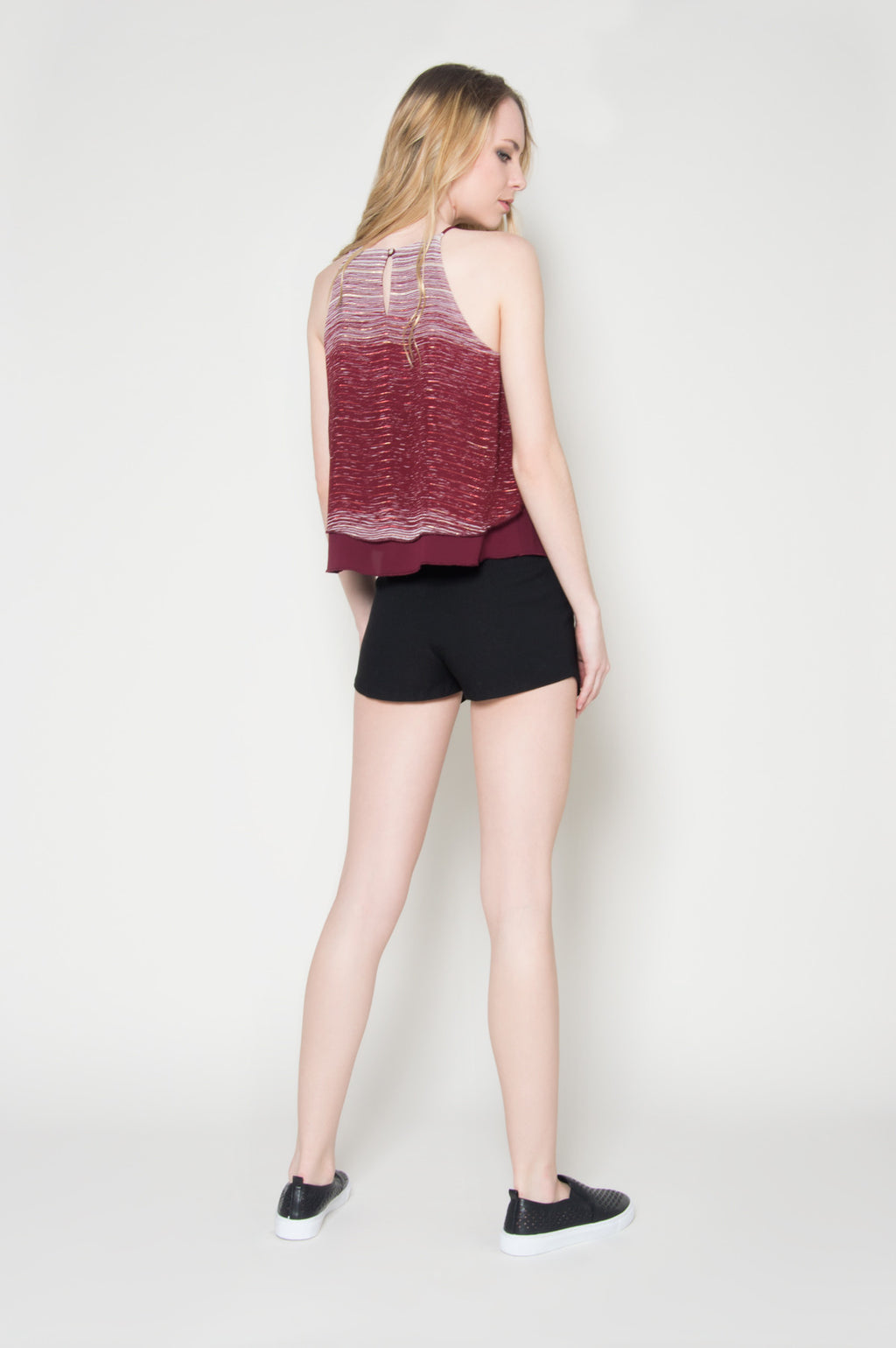 Lucid dream chiffon double layer top, Tops