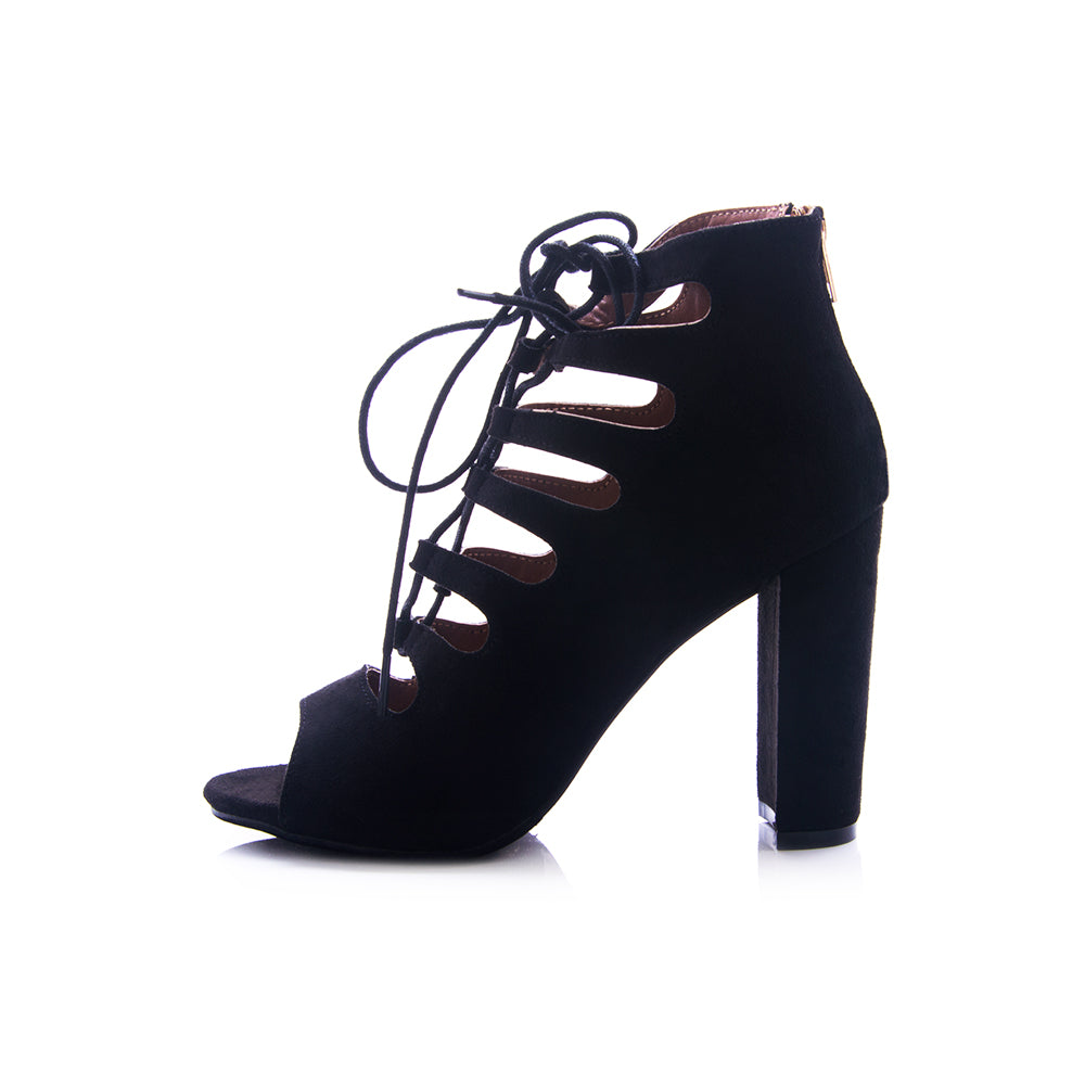 The dolls lace up bootie