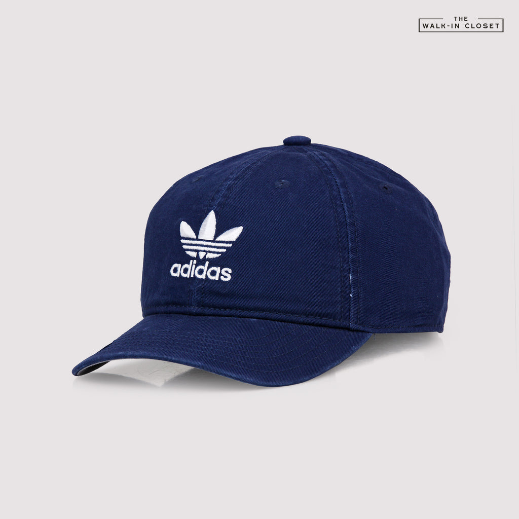 ADIDAS ORIGINALS RELAXED STRAPBACK DAD HAT - BH7136