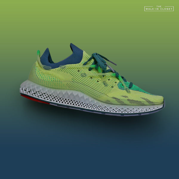 "ADIDAS ORIGINALS 4D FUSIO ""SEMI FROZEN YELLOW"" - FY3603"