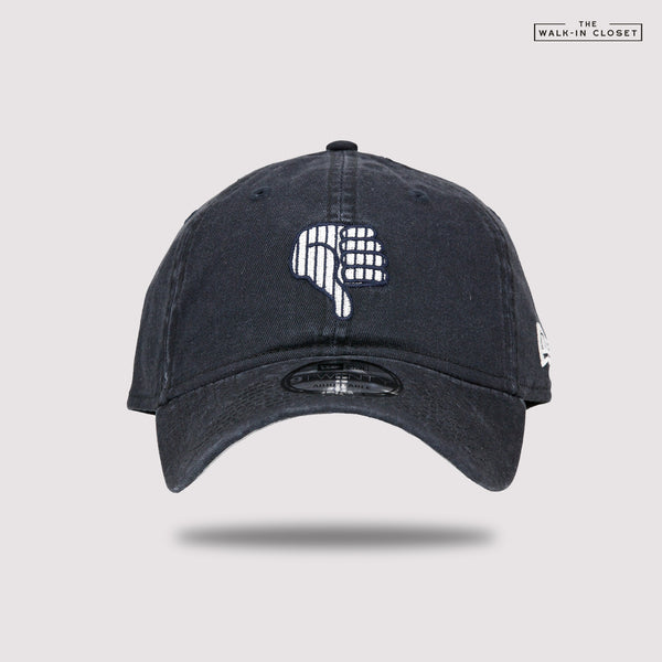 "NEW YORK YANKEES THUMB DOWN ""ALL RISE"" AARON JUDGE NEW ERA DAD HAT"