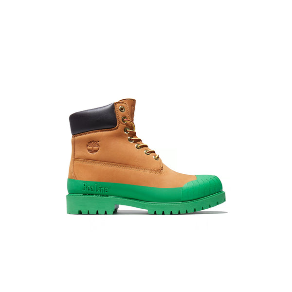 "BEE LINE X TIMBERLAND 6"" RUBBER TOE ""GREEN"" BOOTS - A2M2Y231"