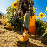 "BEE LINE X TIMBERLAND 6"" RUBBER TOE ""OLIVE"" BOOTS - A2M4J231"