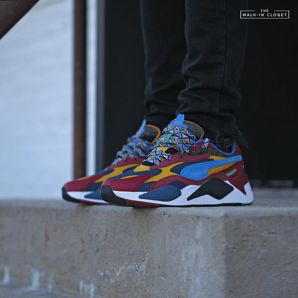 "PUMA RS-X³ MIX ""DARK DENIM / BURNT RUSSET"" - 373183-01"