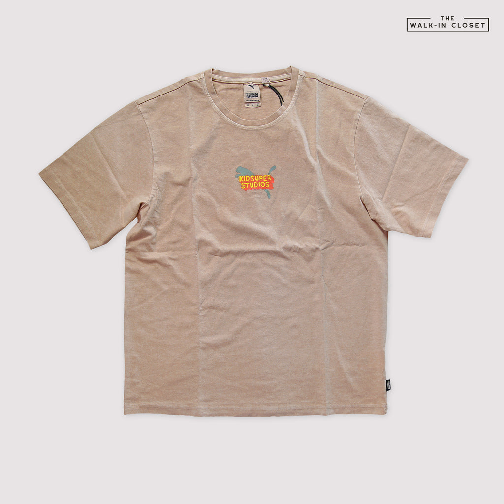 "PUMA X KIDSUPER STUDIOS TEE ""HONEY PEACH"" - 598465-12"