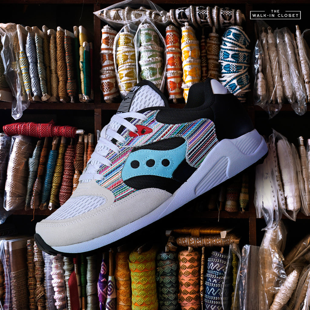 "SAUCONY ORIGINALS JAZZ 4000 ""WHITE / MULTI"" - S70515-1"